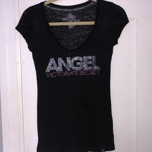 Victoria Secret tee shirt with wings